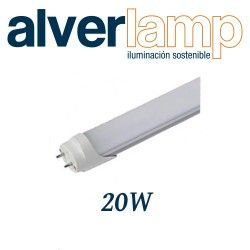 TUBO CRISTAL T8 LED 20W. 1200MM 6000K ALVERLAMP LT820W60TC