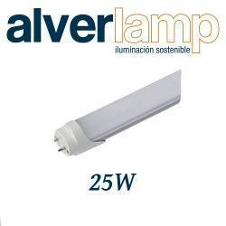 TUBO CRISTAL T8 LED 25W. 1500MM 6000K ALVERLAMP LT825W60TC