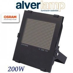 PROYECTOR LED COMPACTO REGULABLE 200W. 4000K ALVERLAMP LSPRO200W40