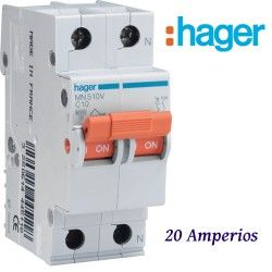 AUTOMATICO 1+N 20A. HAGER