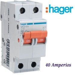 AUTOMATICO 1+N 40A. HAGER