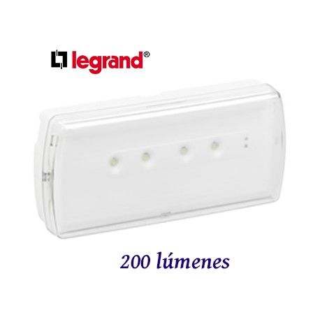 EMERGENCIA LED URA-21 200 LUMENES LEGRAND