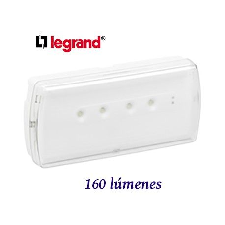 EMERGENCIA LED URA-21 160 LUMENES LEGRAND