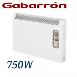 CONVECTOR ELECTRICO MURAL IP24 750W. GABARRON PH075T