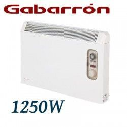 CONVECTOR ELECTRICO MURAL IP24 1250W. (625+625W) GABARRON PH125T