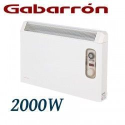CONVECTOR ELECTRICO MURAL IP24 2000W. (1000+1000W) GABARRON PH200T