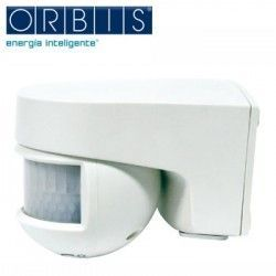 Detector MOVIMIENTO PARED ORIENTABLE ORBIS ISIMAT 230V IP55 OB134312