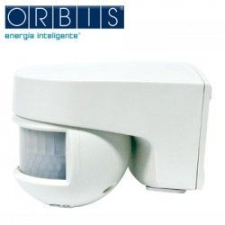 Detector MOVIMIENTO SOBRE PARED ORIENTABLE ORBIS ISIMAT IP55 OB134112