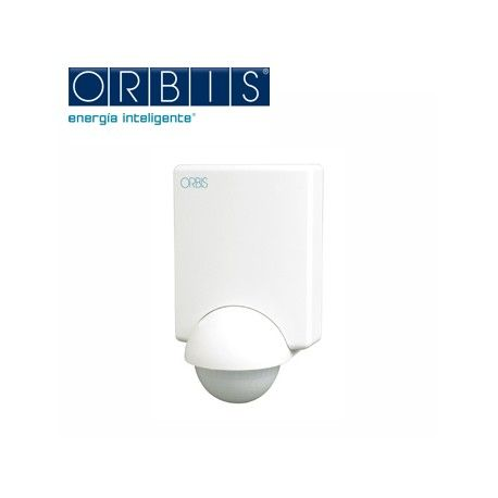 Detector MOVIMIENTO PARED IP 45 5-2000 LUX ORBIS PROXIMAT 230V OB132312