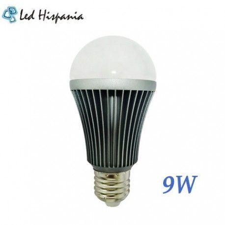 Bombilla 9W Globo E-27 Led Hispania®