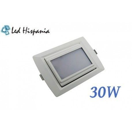 Downlight Empotrable 30W SMD Rectangular Led Hispania®