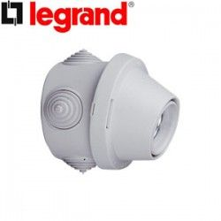 PORTALAMPARA E-27 ESTANCO SUPERFICIE PLEXO LEGRAND 060152