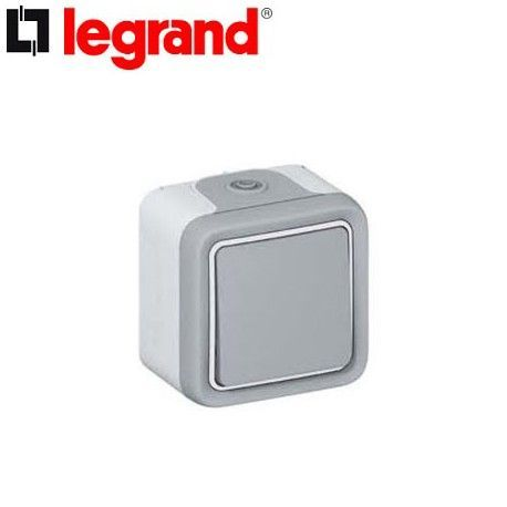 PULSADOR SUPERFICIE ESTANCO PLEXO LEGRAND 069720