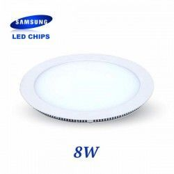 DOWNLIGHT EXTRAPLANO REDONDO 8W CHIP LED SAMSUNG LGVT4821