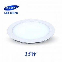DOWNLIGHT EXTRAPLANO REDONDO 15W CHIP LED SAMSUNG LGVT4827