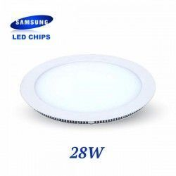 DOWNLIGHT EXTRAPLANO REDONDO 28W CHIP LED SAMSUNG LGVT4850