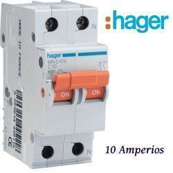AUTOMATICO 1+N 10A. HAGER