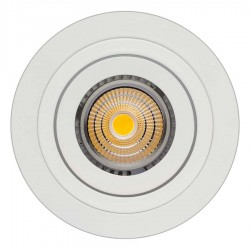 OJO DE BUEY LED REDONDO ABATIBLE SIMPLE 7W VARIOS COLORES BJF