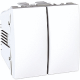 DOBLE INTERRUPTOR BLANCO POLAR EUNEA UNICA U3.211.18