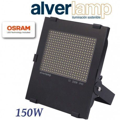 PROYECTOR LED 150W COMPACTO REGULABLE 4000K ALVERLAMP LSPRO150W40