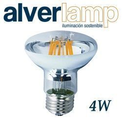 BOMBILLA LED R-50 FILAMENTO REGULABLE 4W E14 ALVERLAMP LR50FI04W
