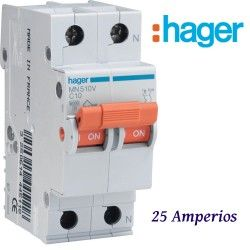 AUTOMATICO 1+N 25A. HAGER