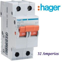 AUTOMATICO 1+N 32A. HAGER