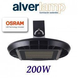 CAMPANA INDUSTRIAL LED SMD REGULABLE 200W. 4000K ALVERLAMP LSCAM200W40