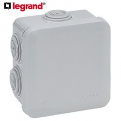 CAJA ESTANCA PLEXO 80X80MM LEGRAND