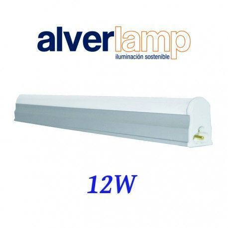 REGLETA T5 LED 12W. 900MM. 4000K ALVERLAMP LRT512W40