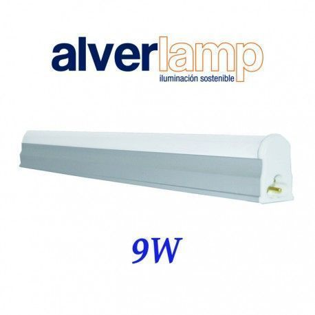 REGLETA T5 LED 9W. 600MM. 4000K ALVERLAMP LRT509W40