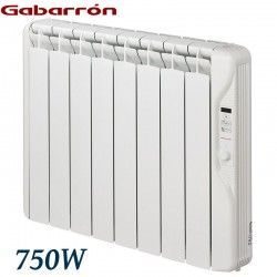 RADIADOR ELECTRICO DIGITAL PROGRAMABLE 750W. GABARRON RF6E