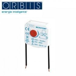 TEMPORIZADOR REGULABLE DE 30s A 10m PARA CAJA DE REGISTRO 230V ORBIS MICROTEMP 230V OB200004