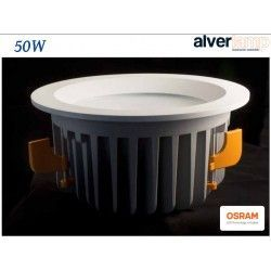 DOWNLIGHT LED 50W EMPOTRAR REDONDO FIJO ALVERLAMP LD50RF