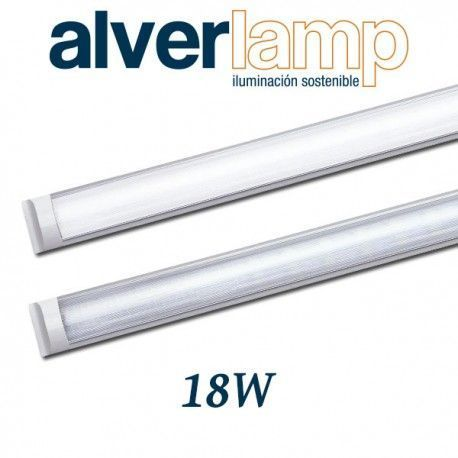 REGLETA LED DECORATIVA 18W 600MM 4000-6000K ALVERLAMP LRDEC0118