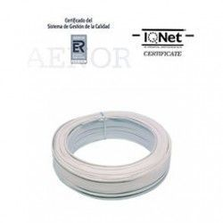 ROLLO 100 MTRS. CABLE PARALELO 2X0,50MM2. BLANCO