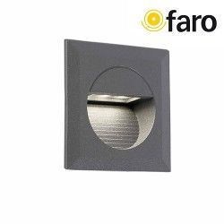 EMPOTRABLE MINI CARTER GRIS OSCURO LED 4000K FARO 70402
