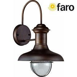 APLIQUE ESTORIL-P MARRON OXIDO 1xE27 60W FARO 71140