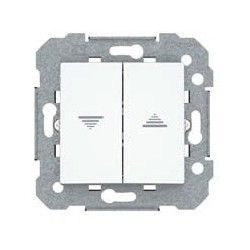 DOBLE INTERRUPTOR PERSIANA BLANCO POLAR VIVA BJC 23569