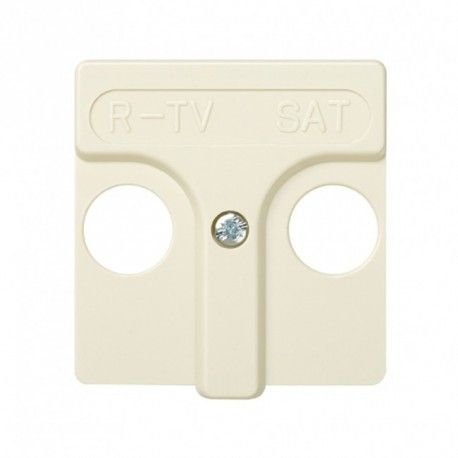 CARATULA MARFIL BASE R-TV/SAT SIMON