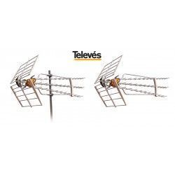 ANTENA DE TV DAT HD BOSS 790  TDT TELEVES 149741