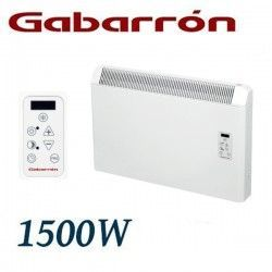 CONVECTOR ELECTRICO MURAL IP24 1500W. (750+750W) GABARRON PH150