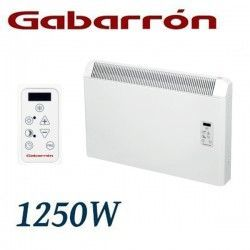 CONVECTOR ELECTRICO MURAL IP24 1250W. (625+625W) GABARRON PH125