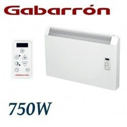 CONVECTOR ELECTRICO MURAL IP24 750W. GABARRON PH075