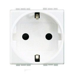 BASE DE ENCHUFE BLANCO BTICINO LIVINGLIGHT N4141A