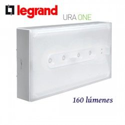 LUZ DE EMERGENCIA LED NO PERMANENTE 160 LUMENES URA ONE LEGRAND 661622