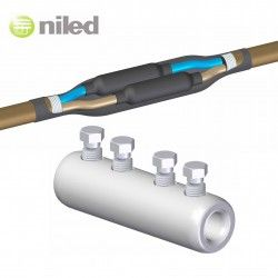 EMPALME NILED TORNILLERIA 95/150MM2 REDES SUBTERRANEAS INDUSTRIALES CABLE FLEXIBLE MET-150K