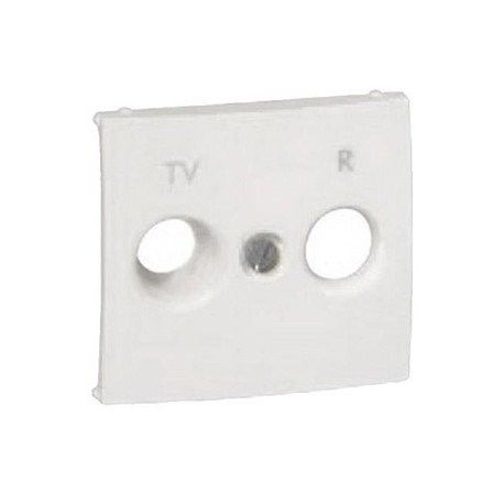 TAPA FRONTAL TV-R/SAT BLANCO VALENA LEGRAND 774385