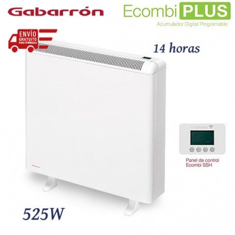 ACUMULADOR DE CALOR DIGITAL WIFI ECOMBI PLUS 525W GABARRON ECO1 PLUS