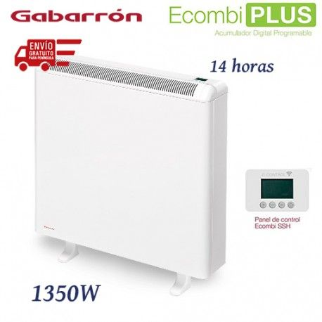 ACUMULADOR DE CALOR DE 1350W 14 HORAS DE CARGA DIGITAL WIFI GABARRON ECO3X PLUS